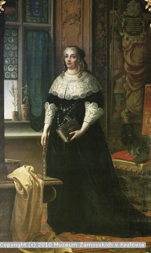 Józef Buchbinder, Portret Barbary z Tarnowskich Zamoyskiej